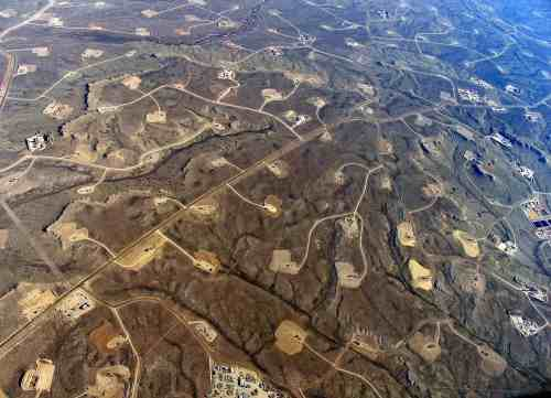 Wyoming-Shale-Gas-Field