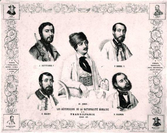 Revoluţia de la 1848 în Transilvania - foto preluat de pe materialedeistorie.wordpress.com
