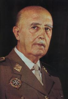 Francisco Paulino Hermenegildo Teódulo Franco Bahamonde (4 December 1892 – 20 November 1975) was a Spanish general and the head of state of Spain from 1936/1939 until his death in 1975 - foto: cersipamantromanesc.wordpress.com