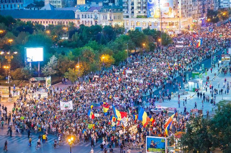 Protest Uniti Salvam Rosia Montana - foto realizat de Cristian Vasile