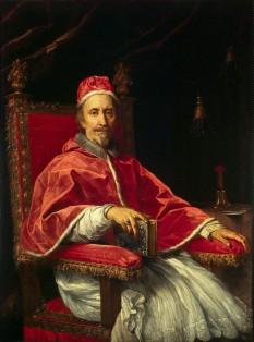Papa Clement al IX-lea (Giulio Rospigliosi) (n. 28 ianuarie 1600 Pistoia – d. 9 decembrie 1669 Roma) a deținut funcția de papă între anii 1667-1669 - foto: ro.wikipedia.org
