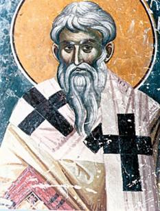 Sfântul, slăvitul și sfințitul mucenic Policarp a fost episcop al Smirnei și unul din Părinții apostolici. S-a născut între anii 69 și 81 d.Hr. și a mucenicit între anii 155 și 167. L-a cunoscut personal pe sfântul apostol și evanghelist Ioan. Prăznuirea lui se face la 23 februarie - foto: crestinortodox.ro