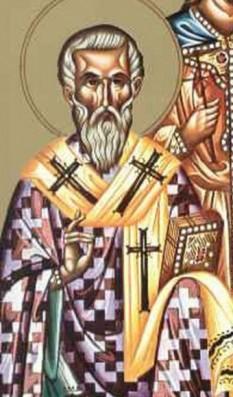 Sfântul Ierarh Porfirie, Arhiepiscopul Gazei. Pomenirea sa de către Biserica Ortodoxă se face la data de 26 februarie - foto: crestinortodox.ro