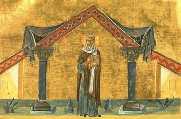 Cel întru sfinți părintele nostru Agaton al Romei a fost papă a Bisericii din Roma între 678 și 681. A fost cunoscut ca o persoană foarte binevoitoare, deschisă spre oameni. Scrisoarea lui prin care explica credința tradițională a Bisericii și anume că în Hristos sunt două voințe, divină și umană, a constituit baza pentru condamnarea Monotelismului la cel de-al VI-lea Sinod Ecumenic. Prăznuirea sa în Biserica Ortodoxă se face pe 20 februarie - foto: doxologia.ro