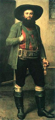 Andreas Hofer (n. 22 noiembrie 1767, St. Leonhard in Passeier, pe atunci in comitatul Tirol, Sfântul Imperiu Roman - d. 20 februarie 1810, Mantua, Italia) a fost conducătorul unei răscoale antinapoleoniene din anul 1809. Este considerat eroul luptei de eliberare a Tirolului - foto: cersipamantromanesc.wordpress.com
