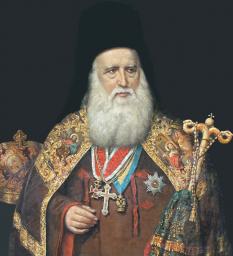 Andrei Șaguna (n. 20 decembrie 1808, Mișcolț, Ungaria — d. 28 iunie 1873, Sibiu) a fost un mitropolit ortodox al Transilvaniei, militant pentru drepturile ortodocșilor și ale românilor din Transilvania, fondator al Gimnaziului Românesc din Brașov (1851), membru de onoare al Academiei Române - foto: sfantul-andrei-saguna.blogspot.com