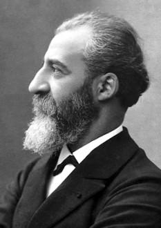 Ferdinand Frederick Henri Moissan (n. 28 septembrie 1852, Paris; d. 20 februarie 1907, Paris) a fost un chimist francez. A descoperit fluorul la data de 26 iunie 1886. Pentru această descoperire a fost laureat cu Premiul Nobel pentru Chimie în anul 1906 - foto: ro.wikipedia.org