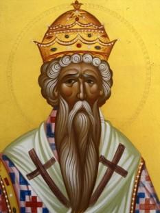 Sfântul Ierarh Evloghie, Patriarhul Alexandriei. Prăznuirea sa de către Biserica Ortodoxă se face la data de 13 februarie - foto: doxologia.ro