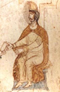 """Tancred (n. 1138 – d. 20 februarie 1194), membru al dinastiei normande Hauteville, conte de Lecce, a devenit rege al Siciliei între 1189 și 1194. El a moștenit titlul de """"conte de Lecce"""" de la bunicul său, regele Roger al II-lea, fiind mai cunoscut în literatura de specialitate drept Tancred de Lecce - in imagine,Tancred de Lecce - conform Liber ad honorem Augusti, 1196 - foto: ro.wikipedia.org"""
