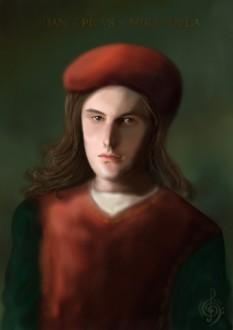 Contele Giovanni Pico della Mirandola (n. 24 februarie 1463, Mirandola - – 17 noiembrie 1494, Florența), filozof și învățat umanist italian din perioada Renașterii.