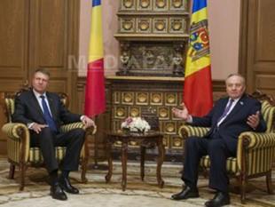Klaus Iohannis în Republica Moldova la invitația președintelui, Nicolae Timofti