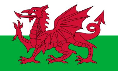 Drapelul Țării Galilor - foto: ro.wikipedia.org
