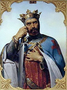 Bohemond I (also spelled Bohemund or Boamund; c.1058 – 3 March 1111), Prince of Taranto and Prince of Antioch, was one of the leaders of the First Crusade (Bohemond I of Antioch by François-Edouard Picot) - foto: en.wikipedia.org