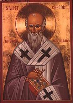 Grigorie I, cunoscut și ca Grigorie cel Mare (sau Grigorie Dialogul), a fost Episcop al Romei (Papă) din 3 septembrie 590 până la adormirea sa în 12 martie 604. Biserica Ortodoxă îl prăznuiește la 12 martie - foto: calendar-ortodox.ro