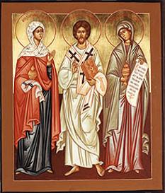 Lazar cu Marta si Maria - foto: calendar-ortodox.ro