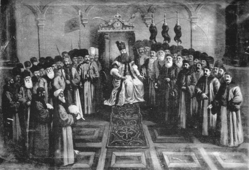 Mavrogenes and the Boyar Council - foto preluat de pe en.wikipedia.org