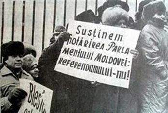 17 martie 1991: Boicotarea primului referendum din U.R.S.S. de către populatia Republica Moldova - foto: cersipamantromanesc.wordpress.com