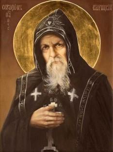Vasile Muraviev (viitorul Sfânt Serafim de Virita)  praznuit de Biserica Ortodoxa in ziua de 21 martie, s-a nascut in anul 1865, intr-o localitate din regiunea Iaroslav, si a trecut la cele vesnice in ziua de 21 martie 1949, la varsta de 84 de ani, fiind inmormantat in cimitirul din Virita. Acest sfant cuvios a ajuns cunoscut in toata lumea mai ales pentru darul inainte-cunoasterii si pentru profetiile sale, implinite la multi ani dupa moartea sa - foto: crestinortodox.ro