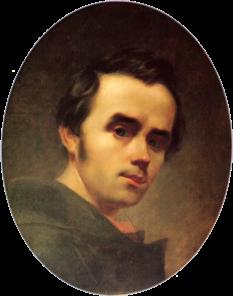 Taras Șevcenko (n. 9 martie 1814 - d. 10 martie 1861) a fost un pictor și poet romantic ucrainean, considerat poetul național al Ucrainei. Opera sa literară este considerată ca fiind fondatoarea limbii și literaturii ucrainene moderne. A scris și în limba rusă și a creat opere valoroase ca pictor și ilustrator - in imagine, Taras Sevcenco, autoportret , 1840 - foto: ro.wikipedia.org