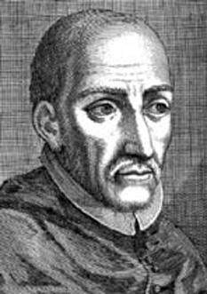 Turibiu de Mongrovejo (Toribio Alfonso de Mogrovejo) (n. 16 noiembrie 1538, Mayorga, Prov. León, Spania - d. 23 martie 1606, Saña, lângă Lima Peru) a fost un misionar catolic, Episcop de Lima, sfânt. S-a născut în Spania în anul 1538 şi a studiat teologia şi dreptul canonic la Valladolid, Salamanca şi Coimbra. Şi-a încheita studiile cu o Licenţă în Drept Canonic la Santiago de Compostela, în 1568 şi un doctorat la Salamanca, în 1573. A fost Mare Inchizitor al Granadei (1573 - 1580). Ales episcop de Lima în anul 1580, a plecat în America de Sud. Înflăcărat de zel apostolic, a întrunit sinoade şi concilii pentru promovarea vieţii religioase în întreg ţinutul. Sinodul din Lima (1582/83) a fost de importanţă fundamentală pentru Biserica din întreaga Americă Latină. În urma acestui sinod a apărut prima carte tipărită pe continentul american (1584), un Catehism redactat în limbi indigene (Quechua, Aimara), de către José de Acosta. În 1590, Turibiu a întemeiat primul Seminar de tip colegiu universitar din America, pe baza reformei tridentine. A apărat cu fermitate drepturile Bisericii, s-a ocupat cu râvnă de turma ce-i era încredinţată, vizitând-o deseori şi acordând o grijă deosebită indigenilor. Munca lui Turibiu a fost însă îngreunată din multe direcţii: atât din partea clerului şi călugărilor, cât şi a regimului colonial. Administraţia colonială cenzura drastic corespondenţa Episcopului, pentru a îngreuna comunicarea acestuia cu Roma. A fost unul din puţinii care a încercat să pună în aplicare şi în Lumea Nouă hotărârile Conciliului Tridentin, spre înnoirea Bisericii în întreaga Americă de Sud. A murit în anul 1606. În 1679 a fost beatificat, iar în 1726, canonizat. Este sărbătorit în Biserica Catolică la 23 martie - foto: ro.wikipedia.org