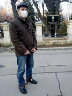 Moldovean protestatar