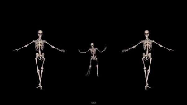 scheletii dansatori
