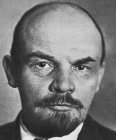 Vladimir Ilici Lenin, numele de familie originar: Ulianov, (n. 10 aprilie 1870 (S.N. 22 aprilie) – d. 21 ianuarie 1924) revoluționar rus care a condus partidul bolșevic, primul premier al Uniunii Sovietice și fondatorul ideologiei cunoscute sub numele de leninism - foto - cersipamantromanesc.wordpress.com
