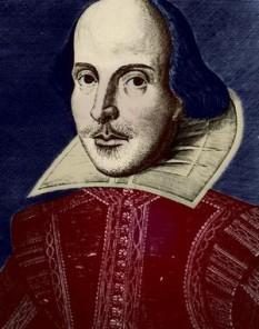 """William Shakespeare (n. 23 aprilie 1564 - d. 23 aprilie 1616), dramaturg și poet englez, considerat cel mai mare scriitor al literaturii de limba engleză. El este adesea numit poet național al Angliei și """"Poet din Avon"""" (""""Bard of Avon"""") sau """"Lebăda de pe Avon"""" (""""The Swan of Avon"""") - foto: cersipamantromanesc.wordpress.com"""