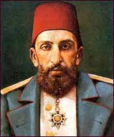 Abdul Hamid al II-lea - foto preluat de pe cersipamantromanesc.wordpress.com