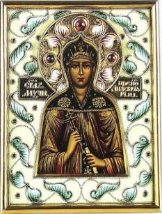 Sfânta Muceniță Anastasia. Praznuirea sa de catre Biserica Ortodoxa se face la data de 15 aprilie - foto: doxologia.ro