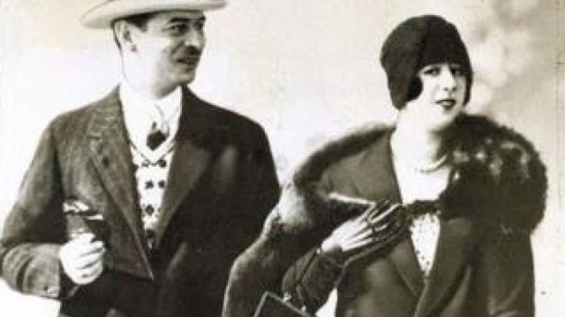 Carol al II-lea si Elena Lupescu - foto preluat de pe historia.ro