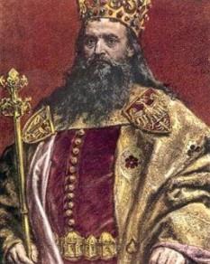Cazimir al III-lea cel Mare (n. 30 aprilie 1310 – d. 5 noiembrie 1370), ultimul rege al Poloniei din dinastia Piast (1333–1370), a fost fiul regelui Władysław I Cot Mare și al lui Hedwig de Kalisz. După fărâmițarea politică a Poloniei în secolele XII-XIII a început procesul de unificare a țării, care s-a terminat în linii mari în timpul domniei lui Cazimir al III-lea - foto: newworldencyclopedia.org
