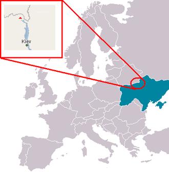 Centrala Atomoelectrică Cernobîl se află în apropiere de orașul Pripiat, în Ucraina nordică - foto: ro.wikipedia.org