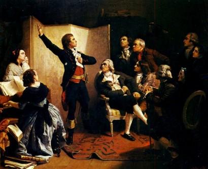 25 aprilie 1792: Claude Joseph Rouget de Lisle, compozitorul La Marseillaise, o cântă pentru prima oară în casa lui Dietrich, primarul din Strasbourg - foto: ro.wikipedia.org