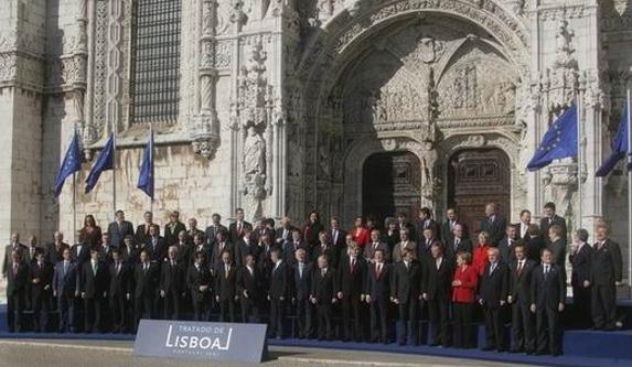 Consiliul European a semnat Tratatul de la Lisabona în 2009 - foto: ro.wikipedia.org