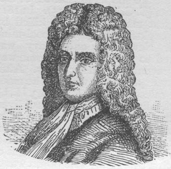 """Daniel Defoe (născut Daniel Foe; 1660 – 24 aprilie ?, 1731) a fost un jurnalist și scriitor englez. Este celebru prin romanul """"Robinson Crusoe"""" (1719), o poveste despre un om naufragiat care a rămas singur pe o insulă. Împreună cu Samuel Richardson, Defoe este considerat fondatorul romanului englez. Primul mare romancier realist englez, Defoe este un observator minuțios, preocupat de morala individuală și socială - foto: ro.wikipedia.org"""