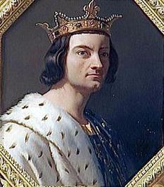 Filip al II-lea al Franței (în franceză Philippe Auguste) (21 august 1165 – 14 iulie 1223) regele Franței între 1180-1223 - foto: cersipamantromanesc.wordpress.com