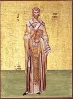 Leonid episcopul Atenei. Praznuirea sa de catre Biserica Ortodoxa se face la data de 15 aprilie - foto: calendar-ortodox.ro