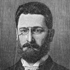 Joseph Pulitzer (n. 10 aprilie 1847, Macău, Ungaria - d. 29 octombrie 1911, Charleston, South Carolina), jurnalist și editor american de origine maghiară - foto: cersipamantromanesc.wordpress.com