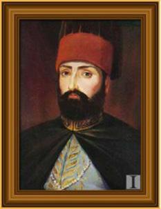 Mahmud al II-lea (n. 20 iulie 1785 – d. 1 iulie 1839) a domnit ca sultan al Imperiului Otoman din 1808 și până la moartea sa în 1839. S-a născut la palatul Topkapi, din Constantinopol, fiind fiul sultanului Abdulhamid I. Domnia sa a rămas în istorie mai ales datorită largilor reforme administrative, fiscale și militare întreprinse, care au culminat cu Decretul Tanzimatului (Reorganizării) aplicat de fiii săi Abdülmecid I și Abdülaziz I. Mama lui era Valide Naksh-i-Dil Haseki (despre care s-a zvonit că ar fi verișoară cu soția lui Napoleon, Josephine) - foto: cersipamantromanesc.wordpress.com