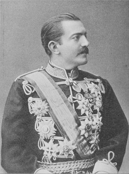 Milan Obrenović (n. 10/22 august 1854, Mărăşeşti, Moldova – d. 29 ianuarie/11 februarie 1901, Viena, Austro-Ungaria) a fost conducător al Serbiei din 1868 până în 1889, iniţial ca prinţ (1868-1882) apoi ca rege (1882-1889) - foto preluat de pe ro.wikipedia.org