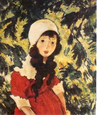 """Nicolae Tonitza, """"Fetiţa pădurarului"""" (1924) - Colecţia Doctor Dona, Bucureşti - foto: ro.wikipedia.org"""