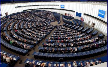 Sala plenară de la sediul din Strasbourg al Parlamentului European - foto - ro.wikipedia.org