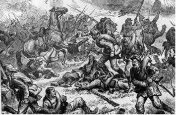 Batalia de la Plevna 1877 - foto preluat de pe cersipamantromanesc.wordpress.com
