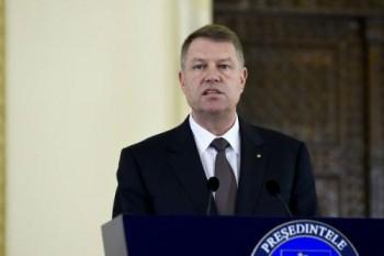 Președintele Klaus Iohannis - Foto: (c) Alex MICSIK / Arhiva AGERPRES