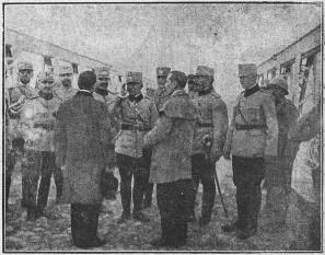 Războiul româno-ungar de la  1919 Delegaţie a cetăţenilor din Tokay, mulţumind că au scăpat de bolşevici - foto - cristiannegrea.ro