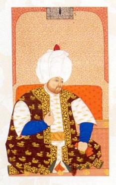 Selim al II-lea (n. 28 mai 1524 – d. 12 decembrie, 1574) a fost sultanul Imperiului Otoman între anii 1566-1574. A fost cel de-al unsprezecelea sultan al Imperiului Otoman. Părinții săi erau Soliman I și sultana Hürrem, aceasta nefiind de origine turcă ci provenind din sudul Ucrainei - foto: ro.wikipedia.org