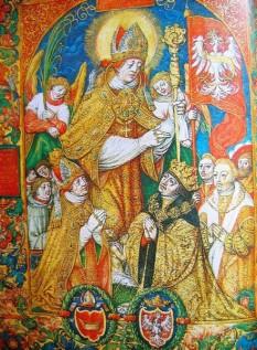 Sf. Stanislau (n. cca. 1036, Szczepanów, d. 1079, Cracovia) a fost episcop catolic polonez, martir și sfânt. Născut în orașul Szczepanów (în apropiere de Cracovia), în Polonia, în jurul anului 1036, și-a făcut studiile la Liège. După ce a fost hirotonit preot, i-a urmat, în 1072, lui Lambert, episcopul Cracoviei. Și-a condus dieceza ca un bun păstor, ajutând pe cei săraci și vizitându-și preoții în fiecare an. A trăit în strictă sărăcie; după moartea părinților și-a împărțit moștenirea săracilor. A fost ucis în 1079 din porunca regelui Boleslav, pe care îl mustrase pentru faptele lui scandaloase și îl amenințase cu excomunicarea. A fost canonizat în anul 1253. Catedrala din Cracovia se află sub patronajul său. Este sărbătorit în Biserica Catolică la 11 aprilie - foto: ro.wikipedia.org