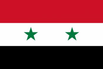 Drapelul Siriei - foto: ro.wikipedia.org