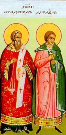 Sfântul Mucenic Agatopod și Sfântul Mucenic Teodul († 303-305), au trăit în vremea împăraților Dioclețian (284-305) și co-imperatorului Maximian (285-305). Prăznuirea lor de către Biserica Ortodoxă se face la data de 5 aprilie - foto:doxologia.ro